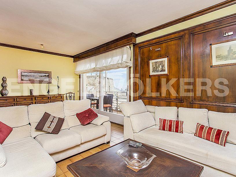 Salón - Apartamento en venta en Centre poble en Sitges - 281463793