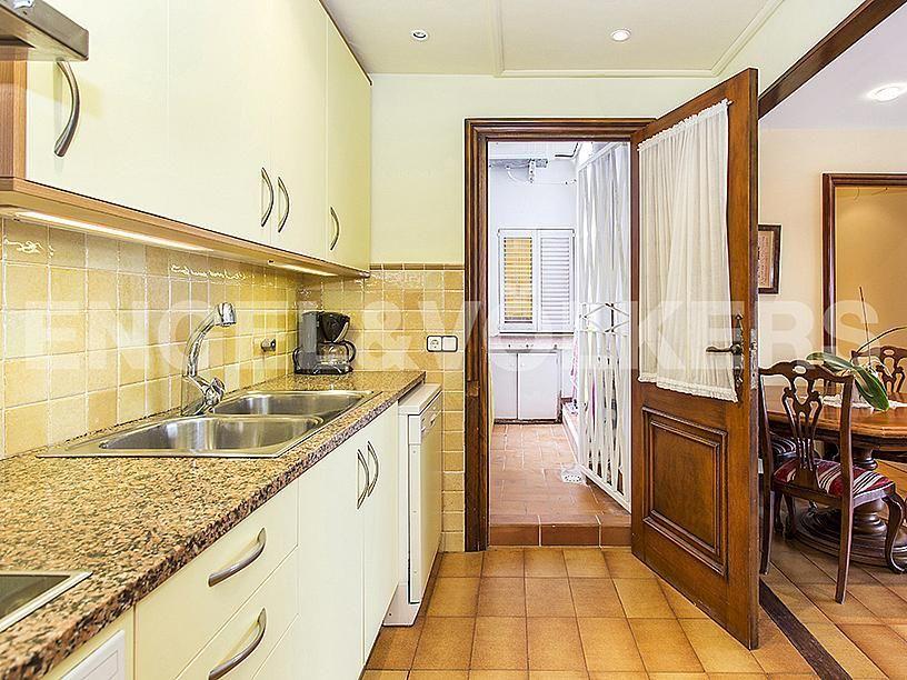 Cocina - Apartamento en venta en Centre poble en Sitges - 281464395