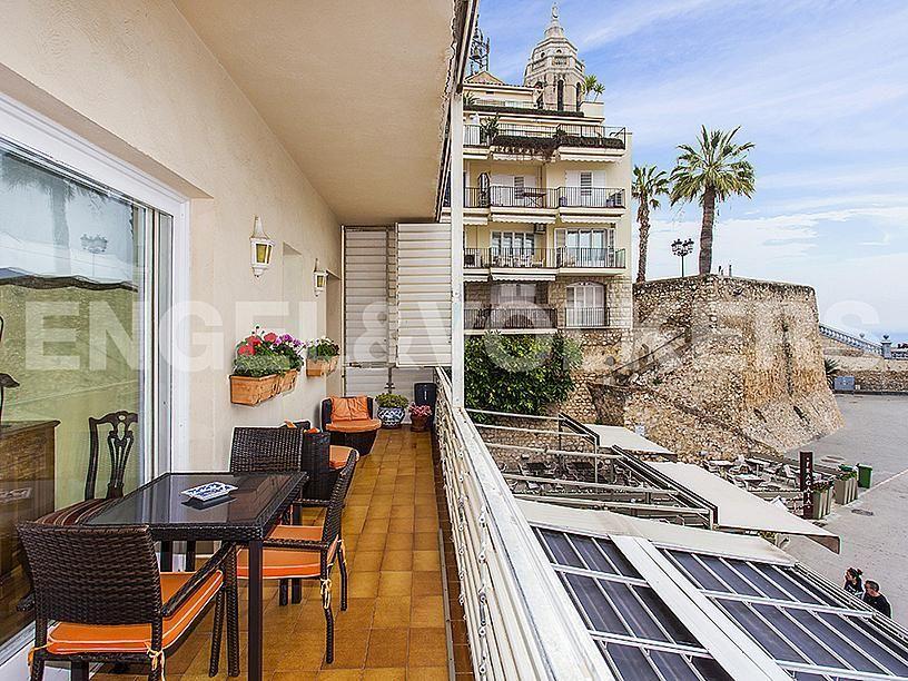 Terraza - Apartamento en venta en Centre poble en Sitges - 281473534