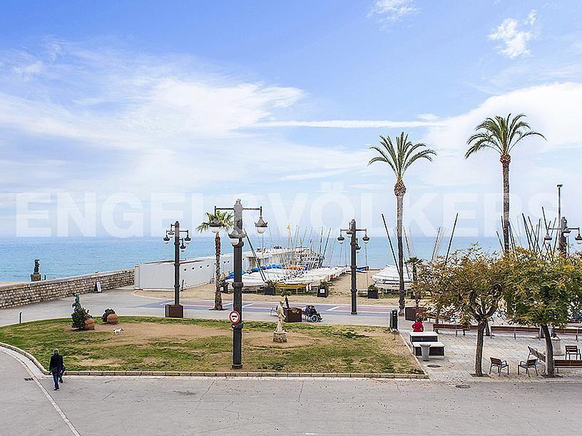 Vistas - Apartamento en venta en Centre poble en Sitges - 281473537