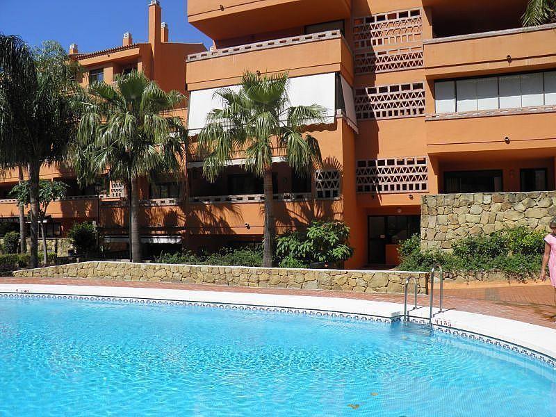 Piscina - Apartamento en alquiler de temporada en Nagüeles Alto en Marbella - 263761963