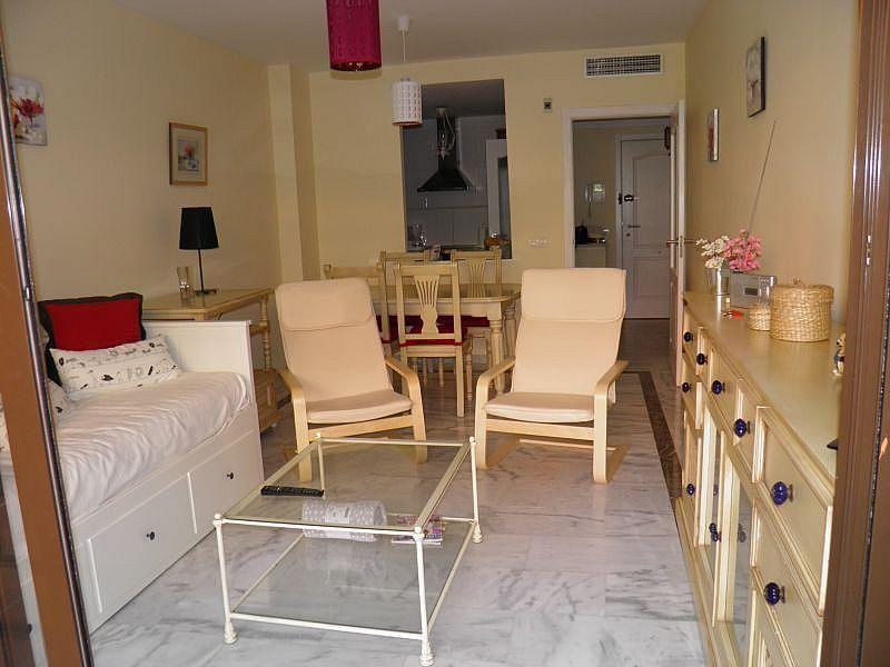 Sala de estar - Apartamento en alquiler de temporada en Nagüeles Alto en Marbella - 263761978