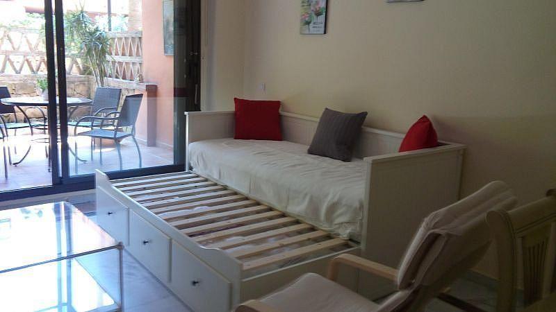 Sala de estar - Apartamento en alquiler de temporada en Nagüeles Alto en Marbella - 263761981