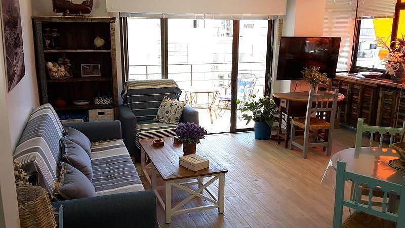 Salón - Apartamento en alquiler de temporada en Almuñécar - 266243223