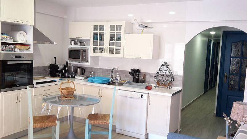Cocina de verano - Apartamento en alquiler de temporada en Almuñécar - 266243226