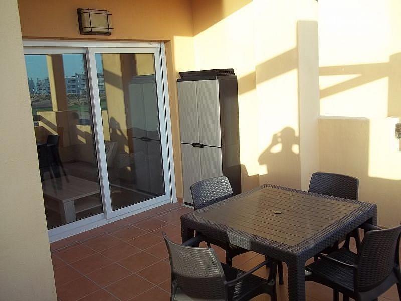 Vistas desde la terraza - Apartamento en alquiler de temporada en San Javier - 306105510