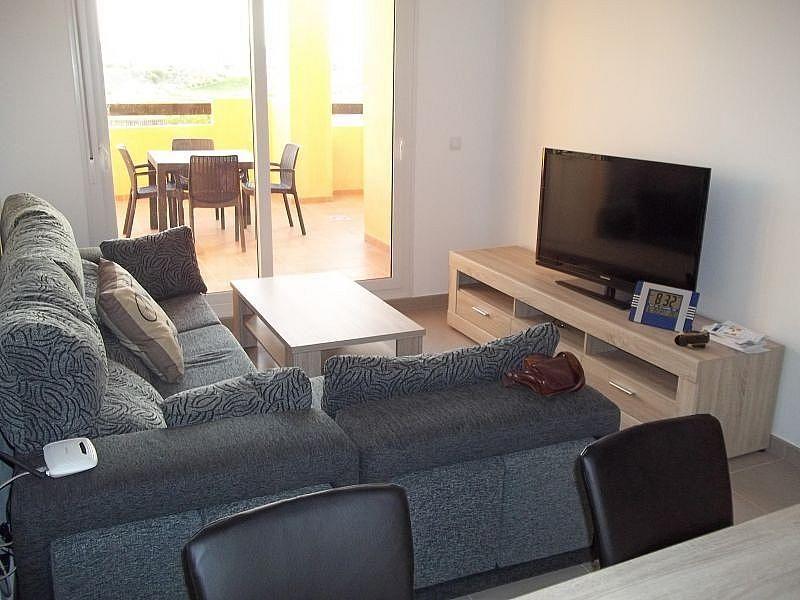 Sala de estar - Apartamento en alquiler de temporada en San Javier - 306105525