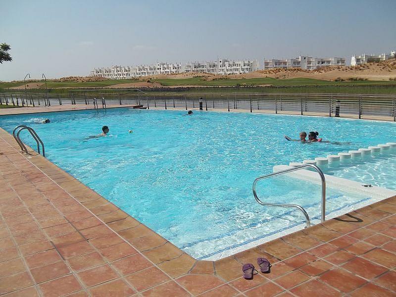 Piscina - Apartamento en alquiler de temporada en San Javier - 306105534