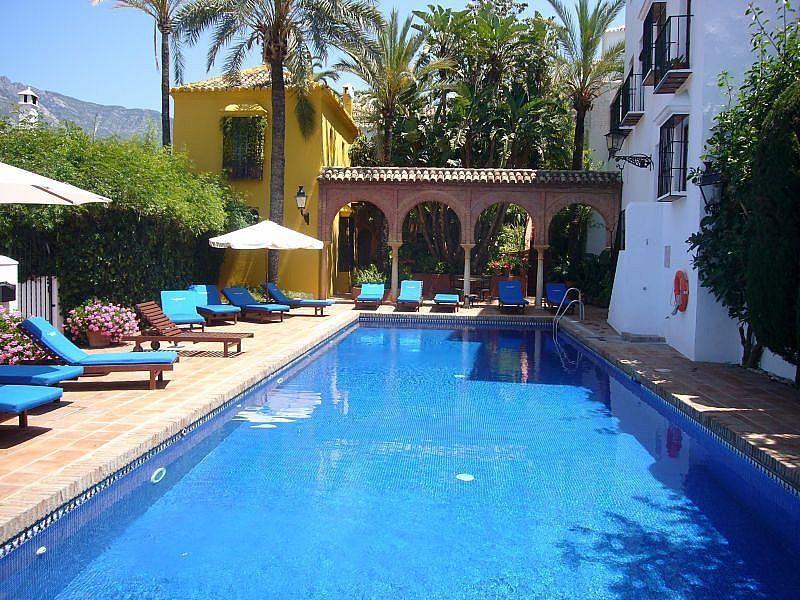 Piscina - Casa en alquiler de temporada en Marbella Pueblo en Marbella - 328202001