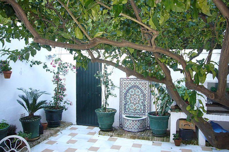 Terraza - Casa en alquiler de temporada en Marbella Pueblo en Marbella - 397670206