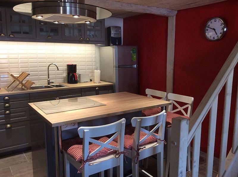 Cocina americana - Casa en alquiler de temporada en Ax-les-Thermes - 328733500