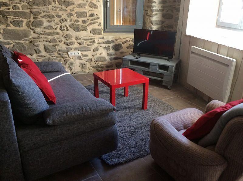 Salón - Casa en alquiler de temporada en Ax-les-Thermes - 328733503