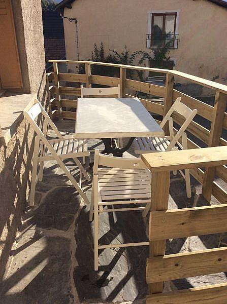 Terraza - Casa en alquiler de temporada en Ax-les-Thermes - 328733548