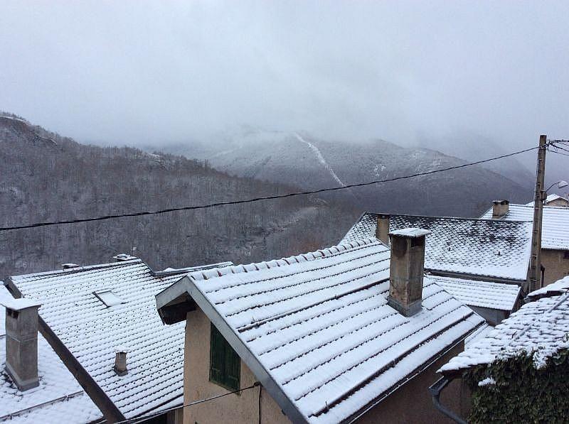 Vistas desde la terraza - Casa en alquiler de temporada en Ax-les-Thermes - 330593146