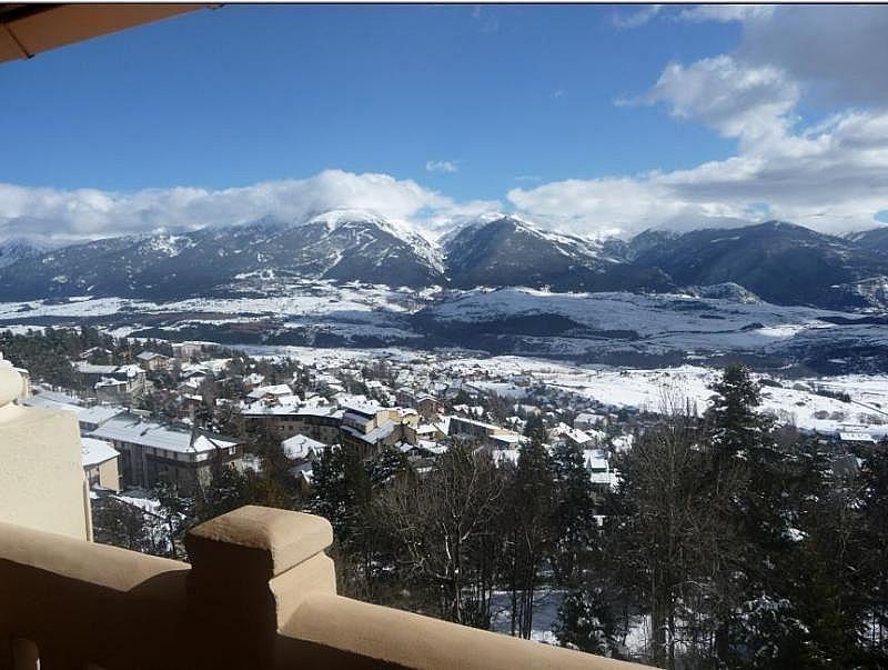 Vistas desde la terraza - Estudio en alquiler de temporada en Font-Romeu-Odeillo-Via - 282475408