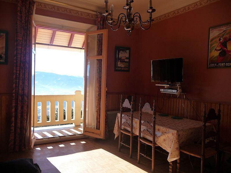 Sala de estar - Estudio en alquiler de temporada en Font-Romeu-Odeillo-Via - 282475414