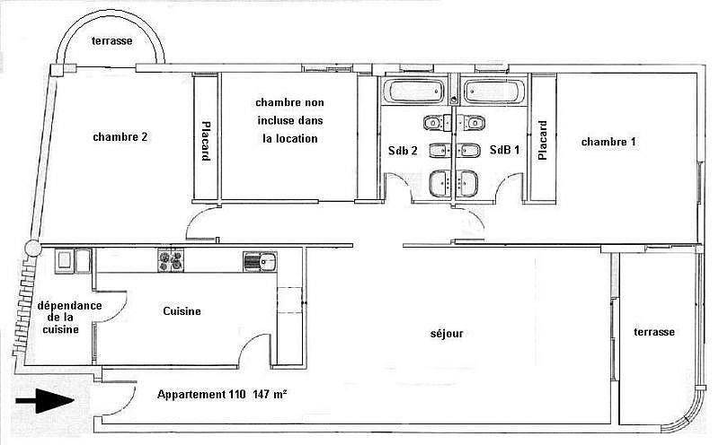 Apartamento en alquiler de temporada en Adeje - 274955129