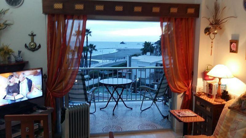 Sala de estar - Apartamento en alquiler de temporada en Almuñécar - 394752115
