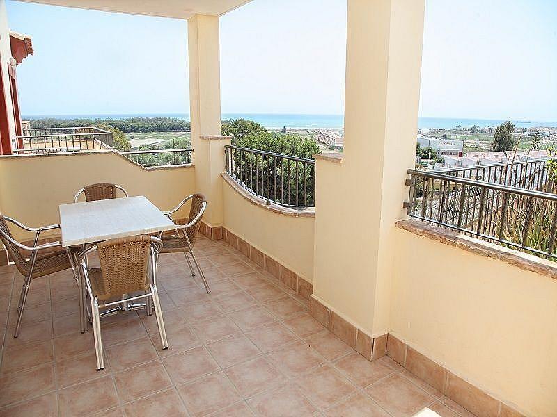Terraza - Apartamento en alquiler de temporada en Vera Pueblo en Vera - 263763625