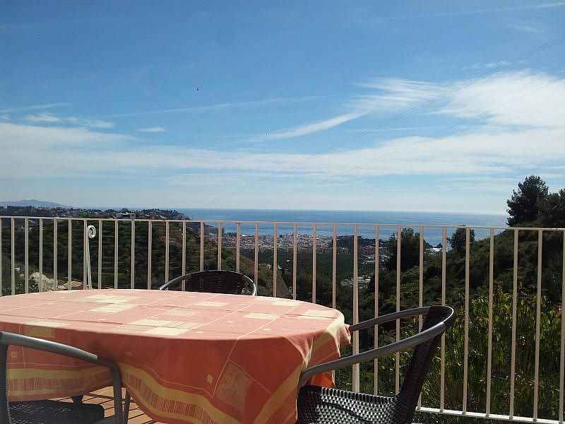 Vistas desde la terraza - Apartamento en alquiler de temporada en Almuñécar - 266243634