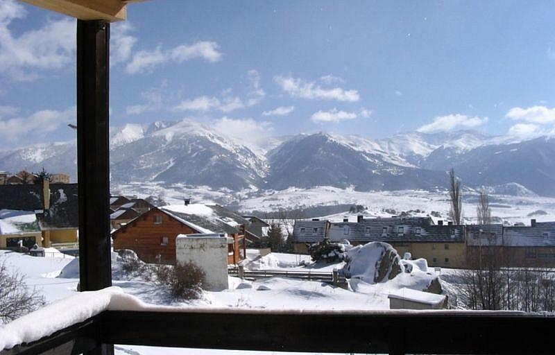 Vistas desde el balcón - Apartamento en alquiler de temporada en Font-Romeu-Odeillo-Via - 263758267