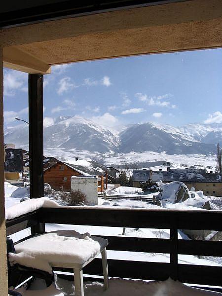 Vistas desde el balcón - Apartamento en alquiler de temporada en Font-Romeu-Odeillo-Via - 263758318