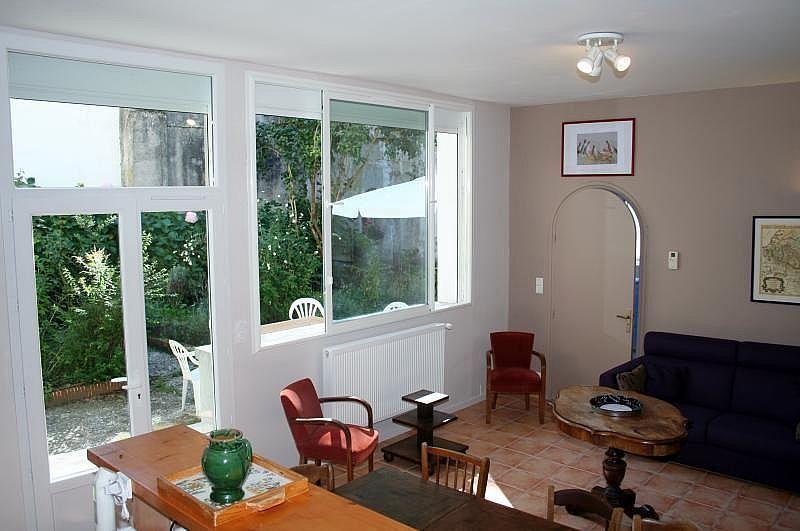 Sala de estar - Apartamento en alquiler de temporada en Bagnères-de-Luchon - 295489907
