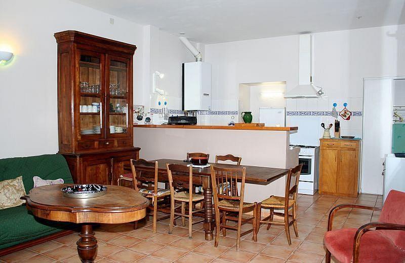 Sala de estar - Apartamento en alquiler de temporada en Bagnères-de-Luchon - 295489913
