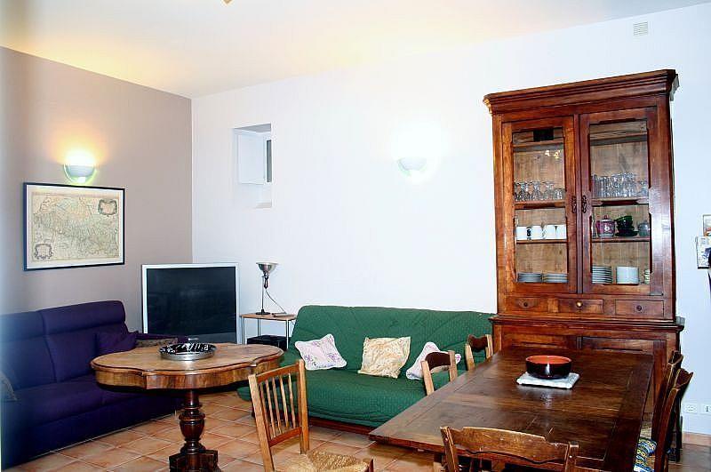 Sala de estar - Apartamento en alquiler de temporada en Bagnères-de-Luchon - 295489916