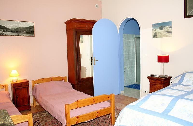 Dormitorio - Apartamento en alquiler de temporada en Bagnères-de-Luchon - 295489922