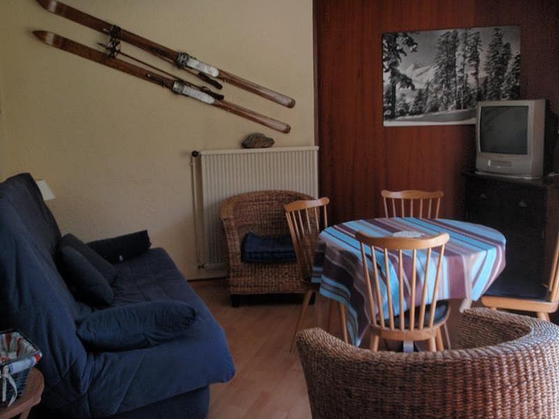 Sala de estar - Apartamento en alquiler de temporada en La Mongie - 268924387