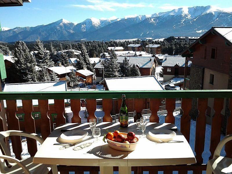 Balcón - Apartamento en alquiler de temporada en Bolquère - 277421723
