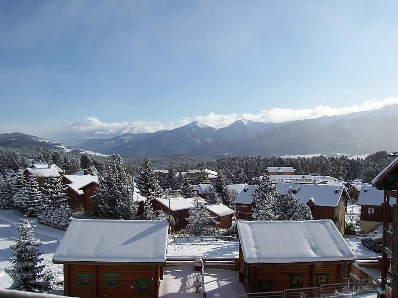 Vistas desde el alojamiento - Apartamento en alquiler de temporada en Bolquère - 277421747