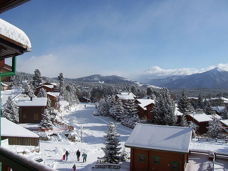 Vistas desde el balcón - Apartamento en alquiler de temporada en Bolquère - 370557079
