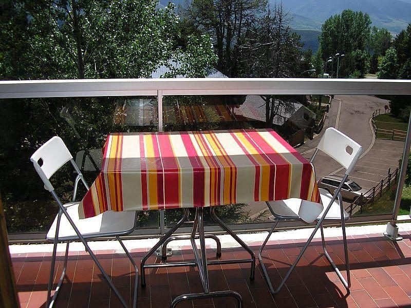 Terraza - Apartamento en alquiler de temporada en Font-Romeu-Odeillo-Via - 263762677