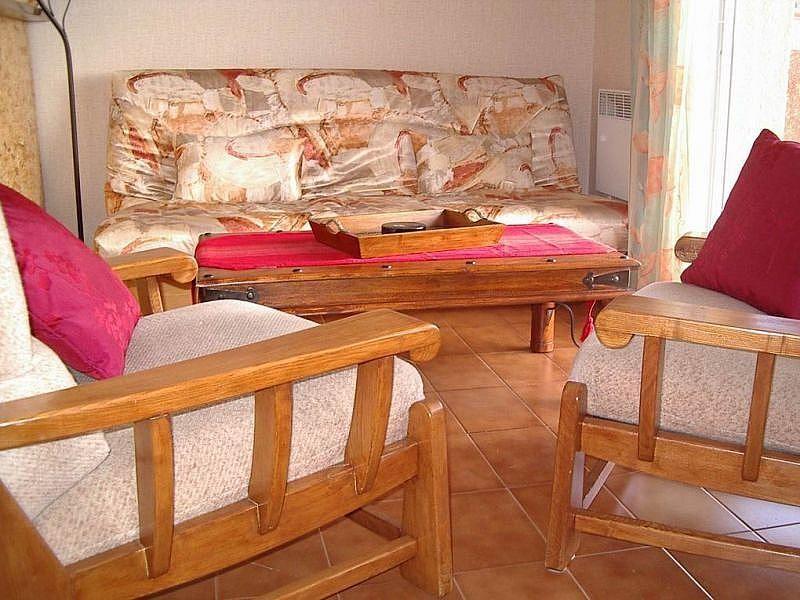 Salón - Apartamento en alquiler de temporada en Font-Romeu-Odeillo-Via - 259044539