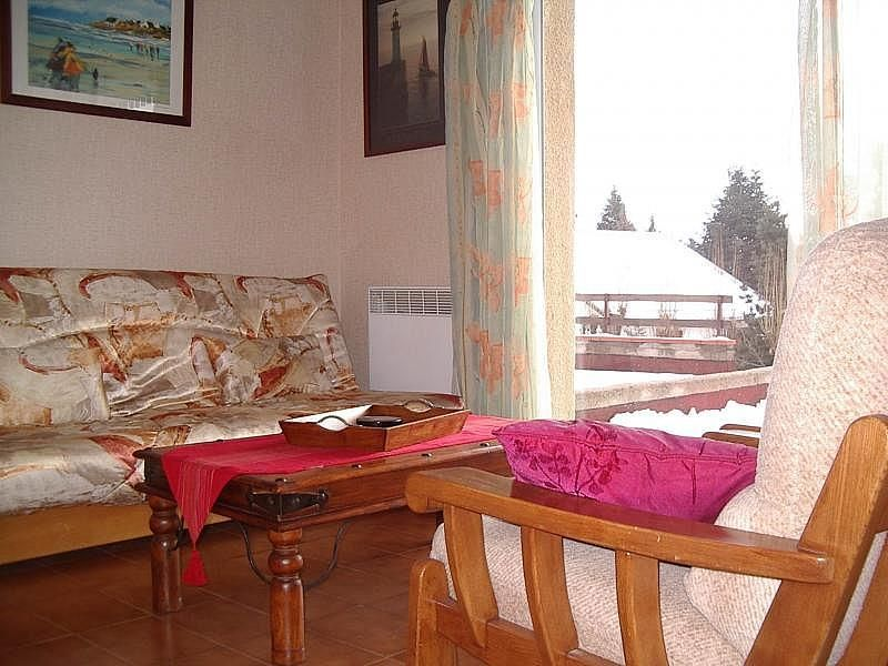 Salón - Apartamento en alquiler de temporada en Font-Romeu-Odeillo-Via - 259044542