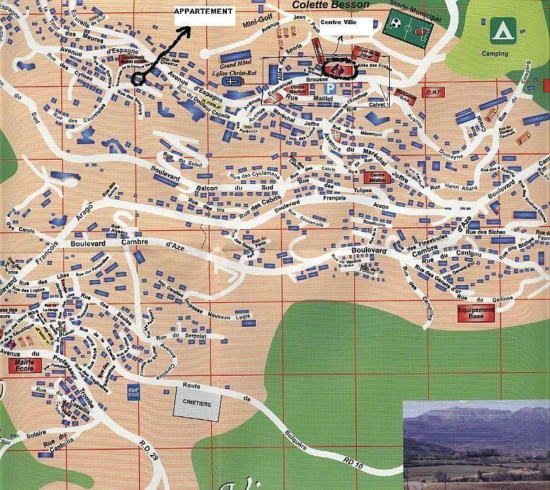 Mapa - Apartamento en alquiler de temporada en Font-Romeu-Odeillo-Via - 259044569