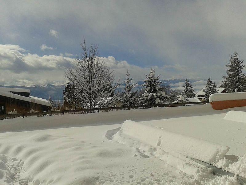 Vistas desde la terraza - Apartamento en alquiler de temporada en Font-Romeu-Odeillo-Via - 259044575