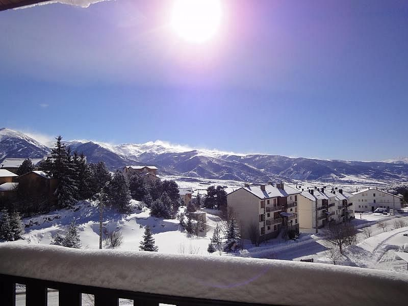 Vistas desde el balcón - Apartamento en alquiler de temporada en Font-Romeu-Odeillo-Via - 266243919