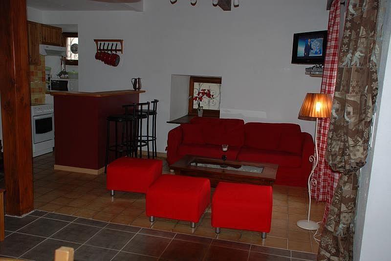 Salón - Apartamento en alquiler de temporada en Saint-Lary-Soulan - 301039053