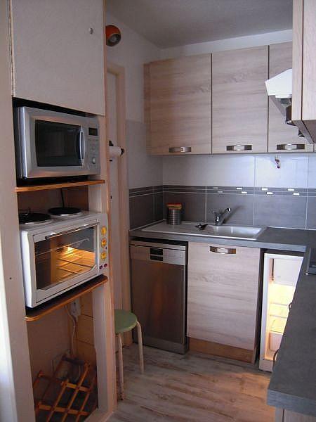 Kitchenette - Apartamento en alquiler de temporada en La Mongie - 380074026