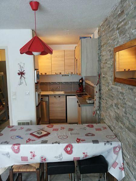 Kitchenette - Apartamento en alquiler de temporada en La Mongie - 380074032