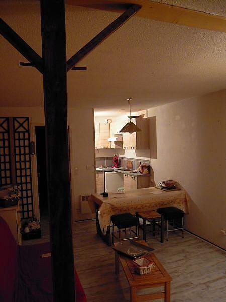 Sala de estar - Apartamento en alquiler de temporada en La Mongie - 380074041