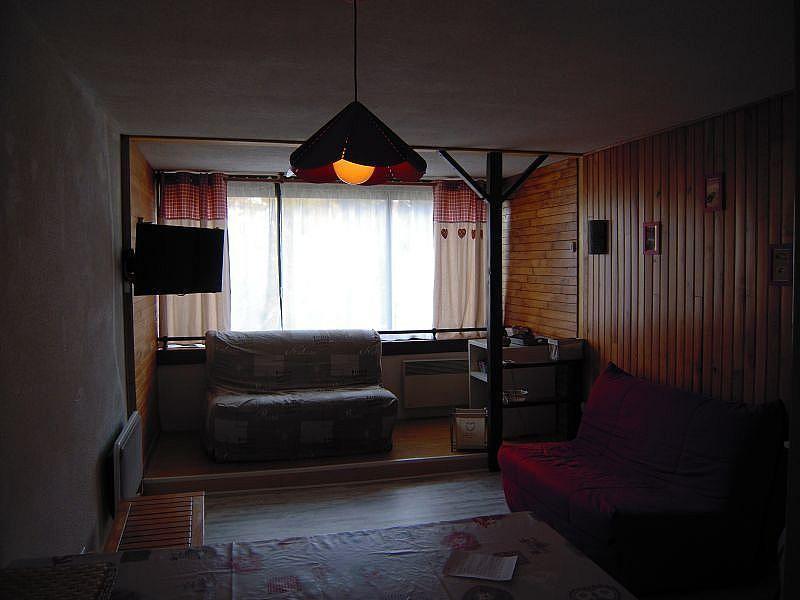 Sala de estar - Apartamento en alquiler de temporada en La Mongie - 380074047