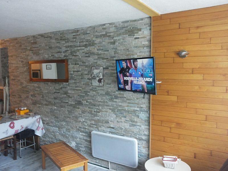 Sala de estar - Apartamento en alquiler de temporada en La Mongie - 380074050