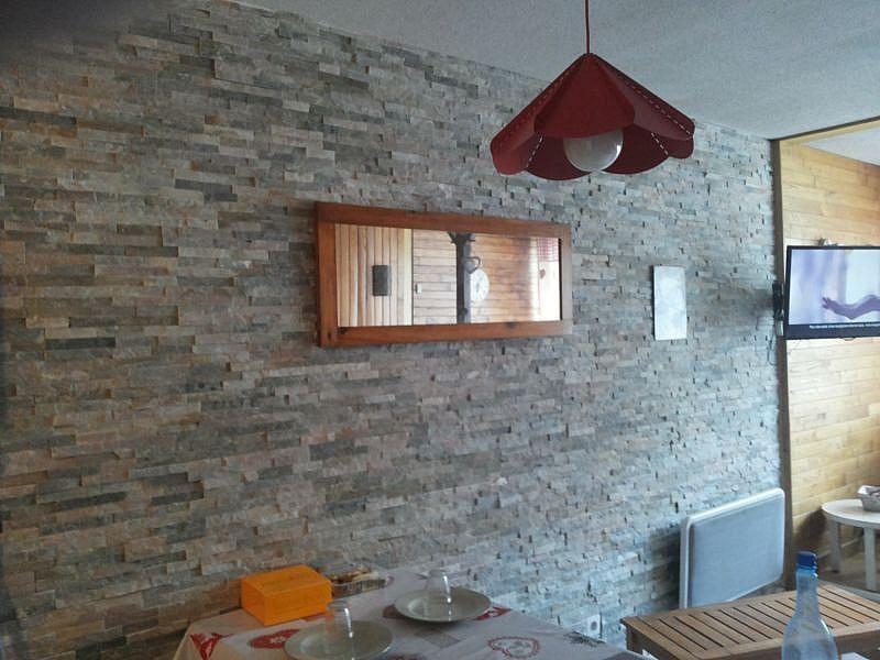 Sala de estar - Apartamento en alquiler de temporada en La Mongie - 380074053
