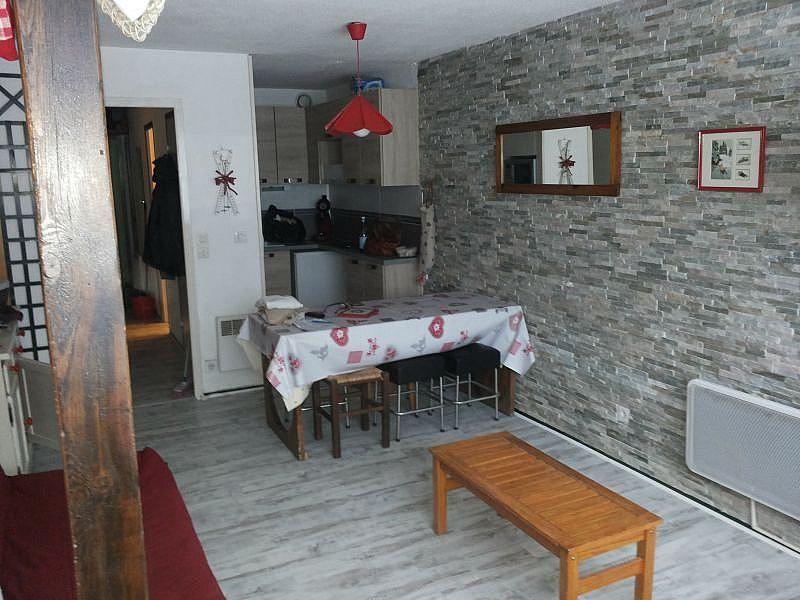 Sala de estar - Apartamento en alquiler de temporada en La Mongie - 380074056