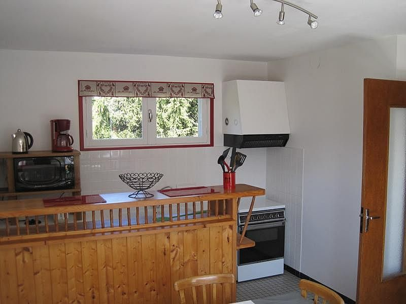 Cocina independiente - Apartamento en alquiler de temporada en Saint-Lary-Soulan - 261116260