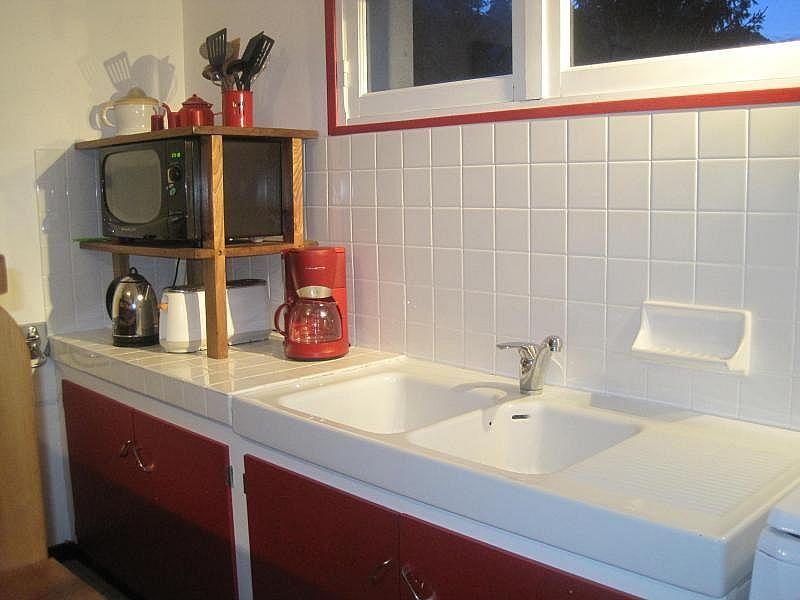 Cocina independiente - Apartamento en alquiler de temporada en Saint-Lary-Soulan - 261116263
